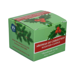 Aromas of Christmas Scented Candle