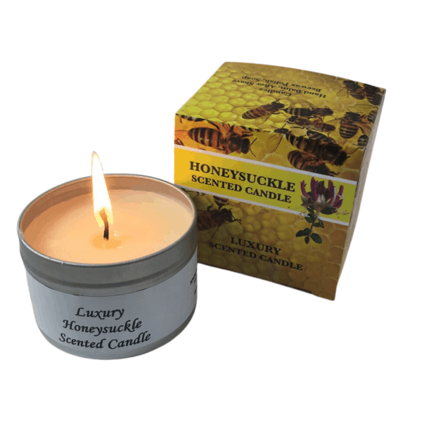 Busy Bee Scented Candle Honeysuckle