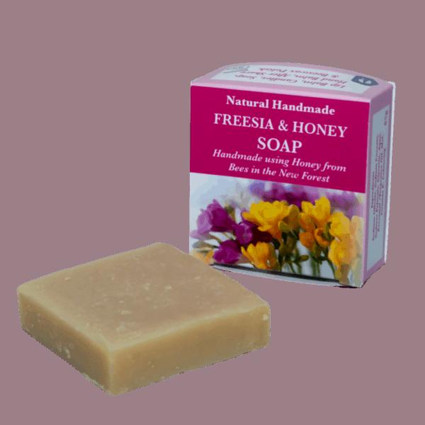 Freesia Natural Handmade Soap with Honey