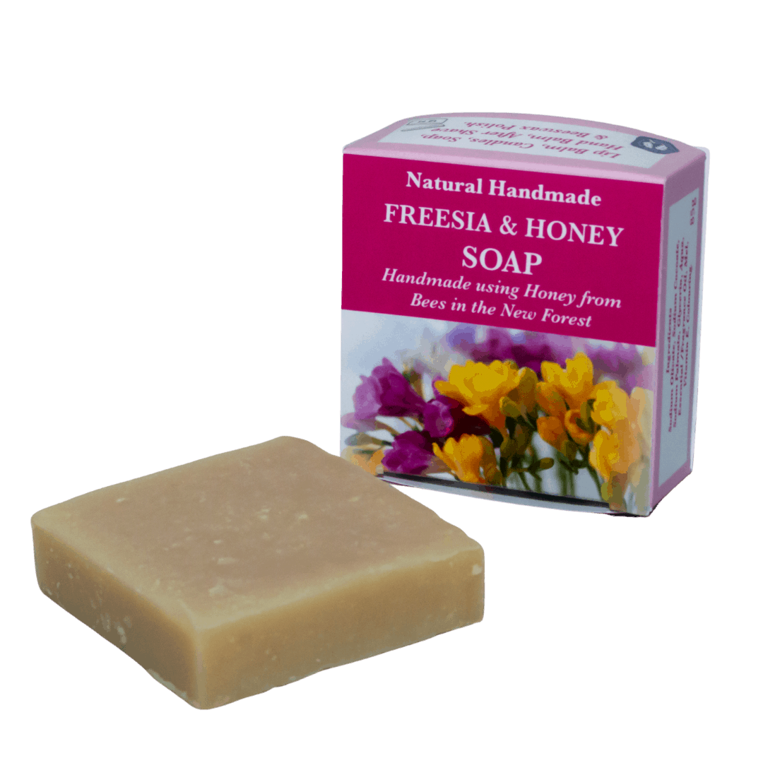 Freesia Natural Handmade Soap with Honey