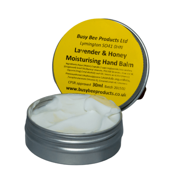 Handmade Lavender & Honey Hand balm