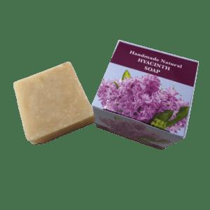 Hyacinth handmade natural soap