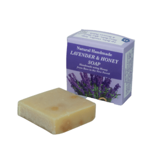 Lavender Natural Handmade Soap with Honey