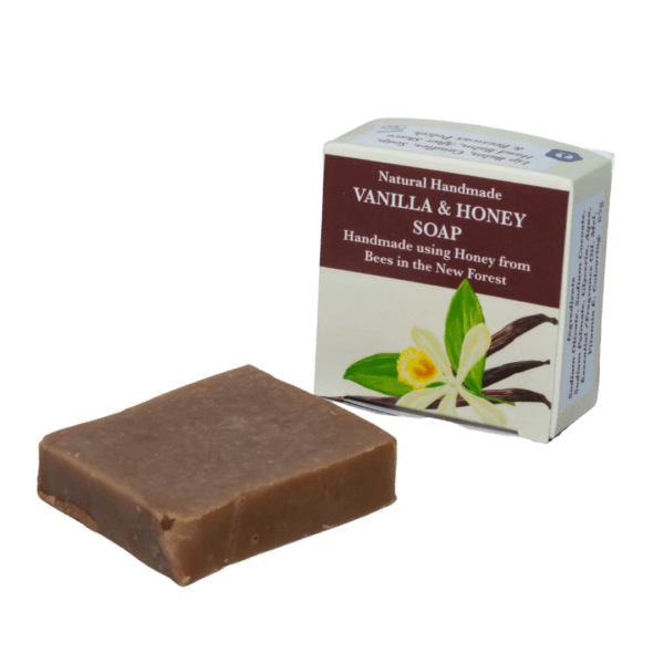 Vanilla Natural Handmade Soap with Honey