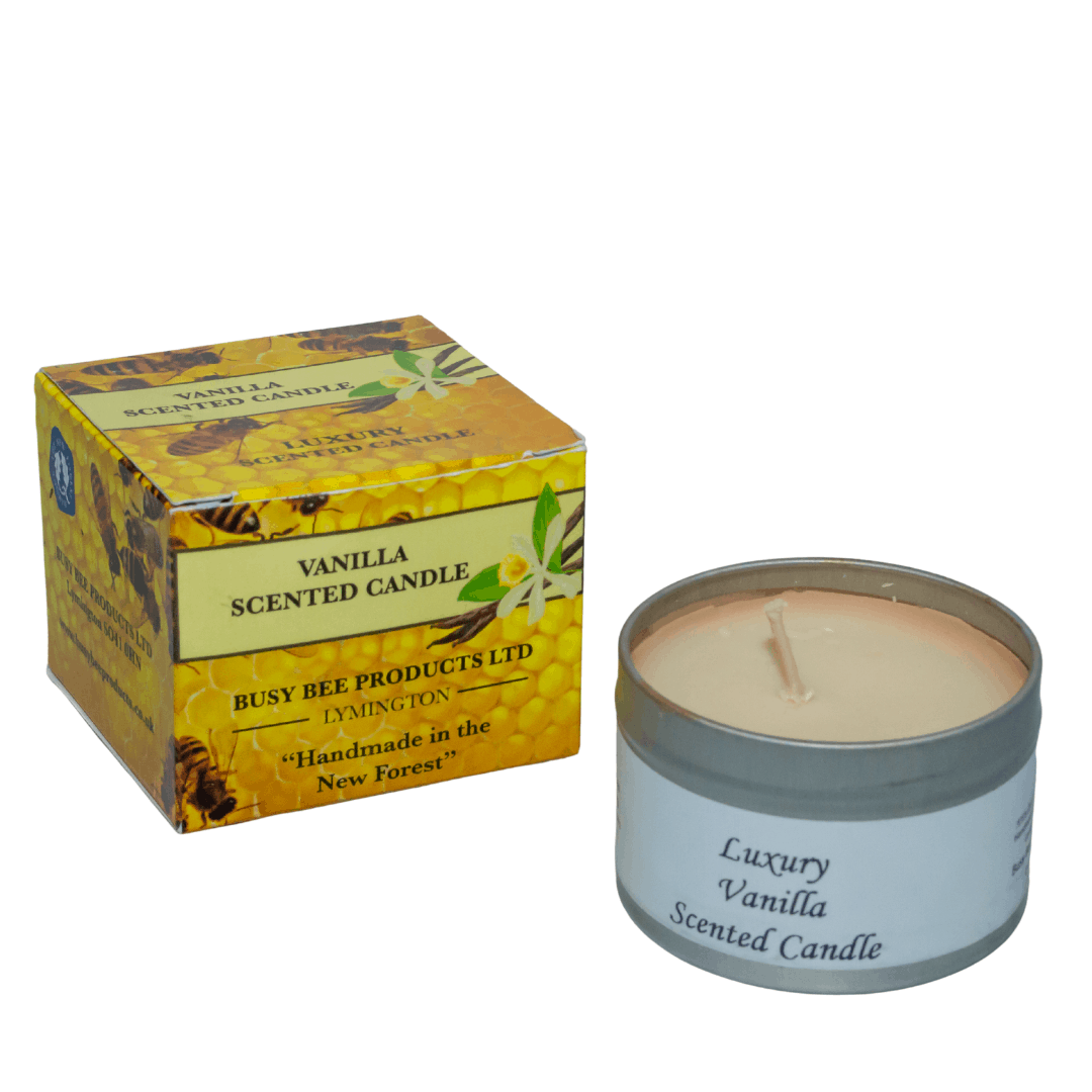 Vanilla Scented Candle Busy Bee Products Ltd