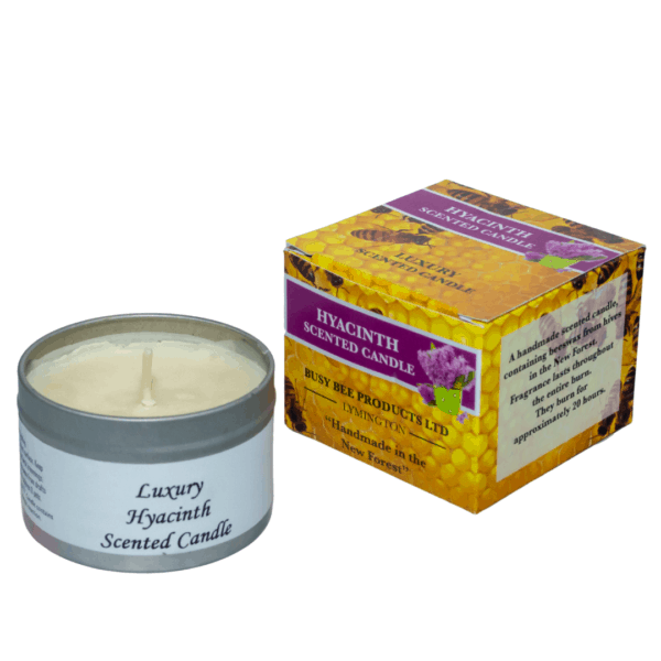 hyacinth scented candle